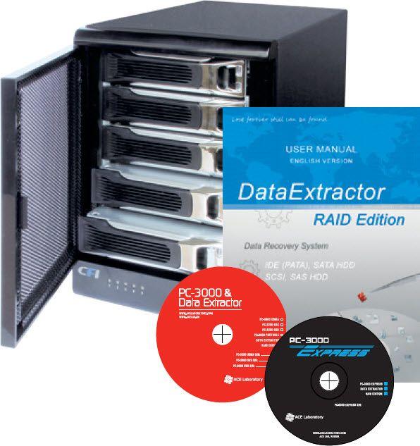 Data Ectractor Raid Edition 1