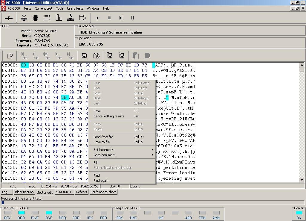 نرم افزار بازیابی اطلاعات PC 3000