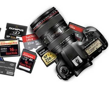 بازیابی اطلاعات دوربین دیجیتال