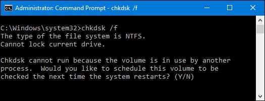 تعمیر هارد بدسکتور گیری با chkdsk ویندوز