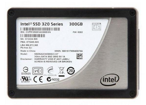 بازیابی اطلاعات هارد SSD Intel