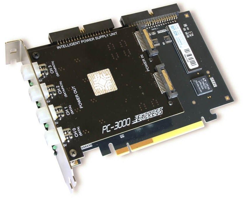 PC-3000 Express دستگاه تعمیر و بازیابی اطلاعات