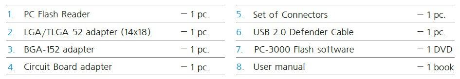 PC-3000 Flash Kit 1