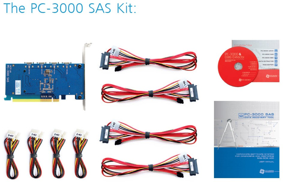 PC-3000 SAS Kit