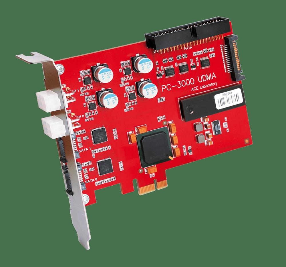 PC-3000 UDMA دستگاه تعمیر و بازیابی اطلاعات هارد