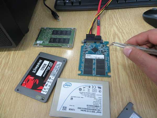 ریکاوری اطلاعات هارد SSD