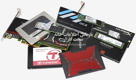ریکاوری بازیابی اطلاعات هارد SSD